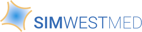 SIMWESTMED logo